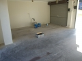 Epoxy floor to garage (before)