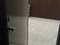 Repaint of external door (after)