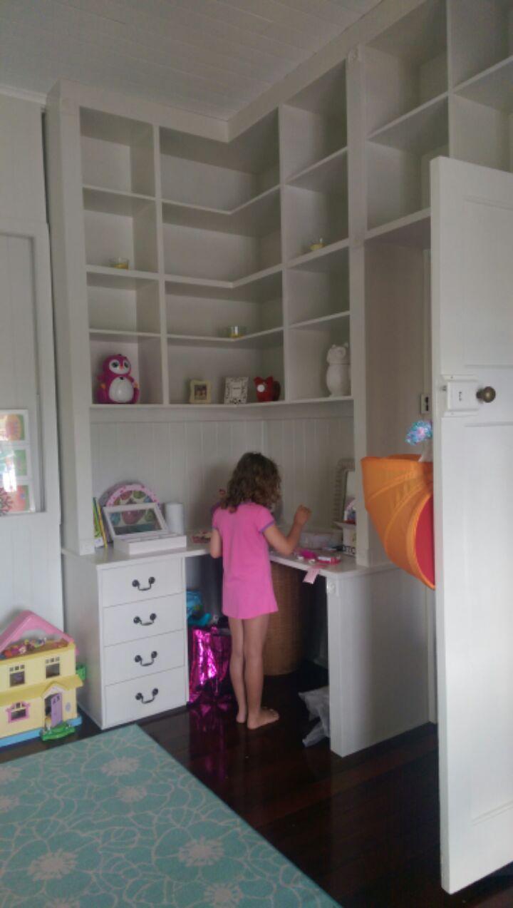 Repaint of kid's bedroom (after)