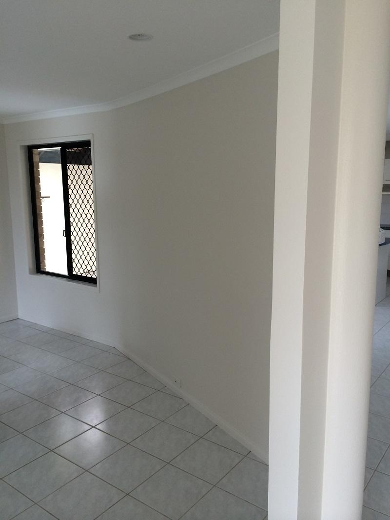 Repaint of living area