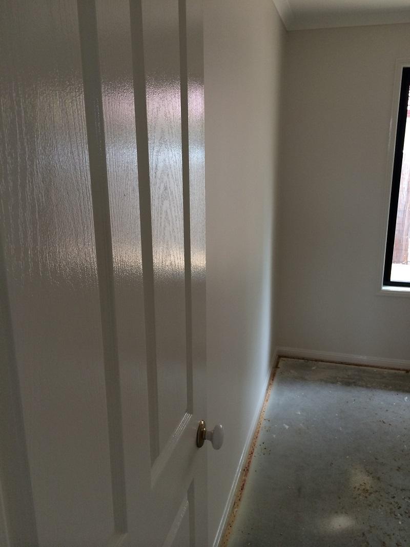 Repaint of bedroom